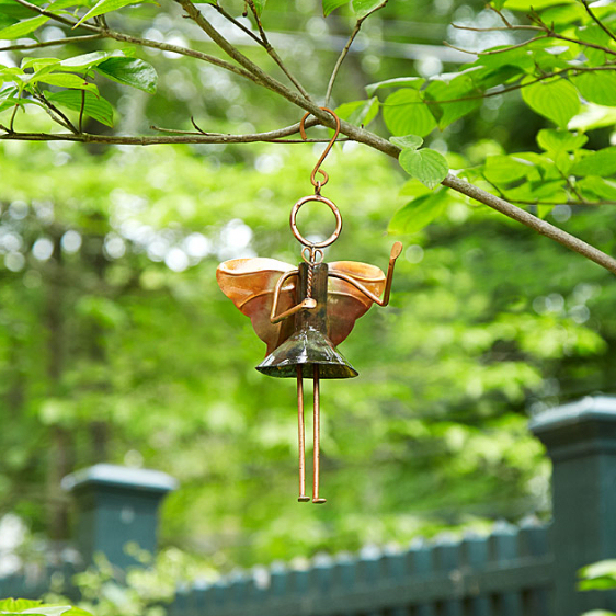hanging fairy garden ornament
