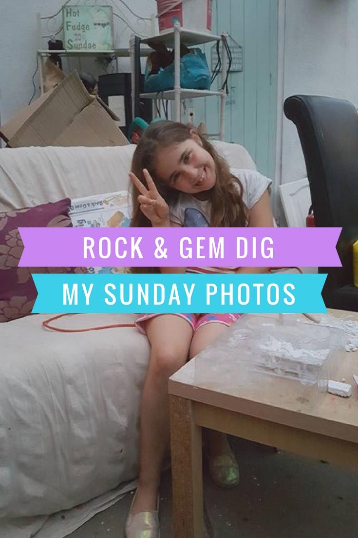 rock and gem dig Sunday photo