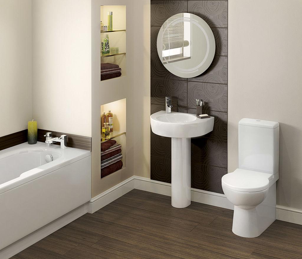 bathroom - creating space
