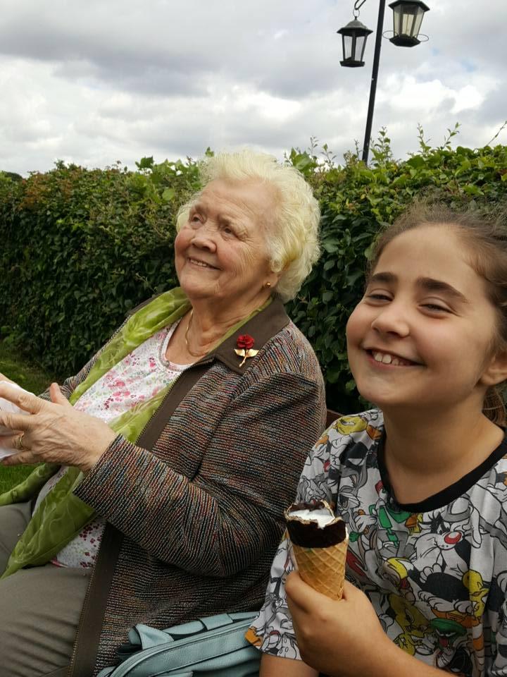 Nanny and Ella at Daisy Made