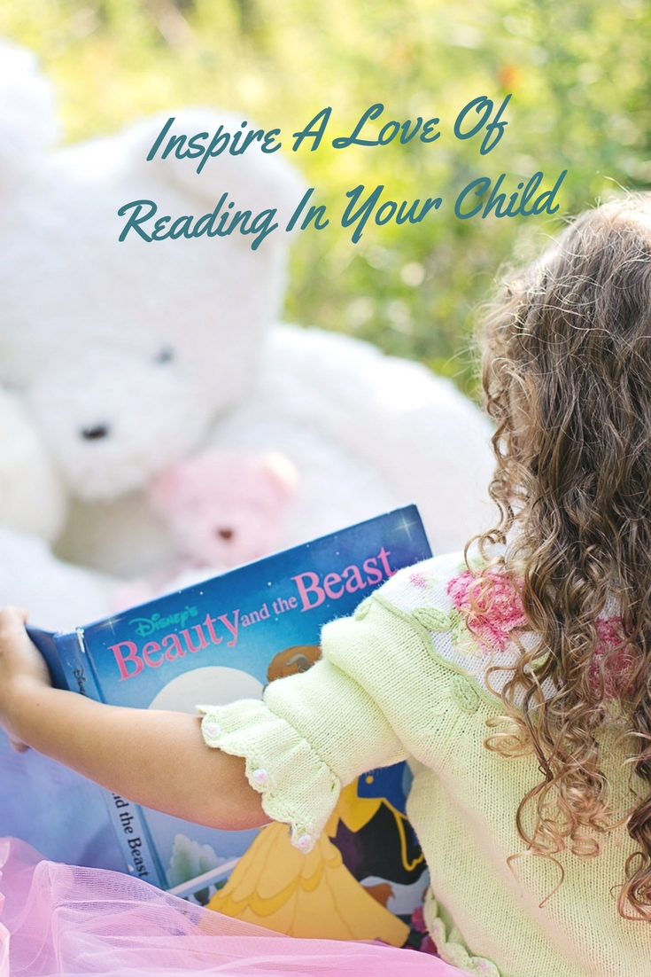 Inspire a love of reading in your child
