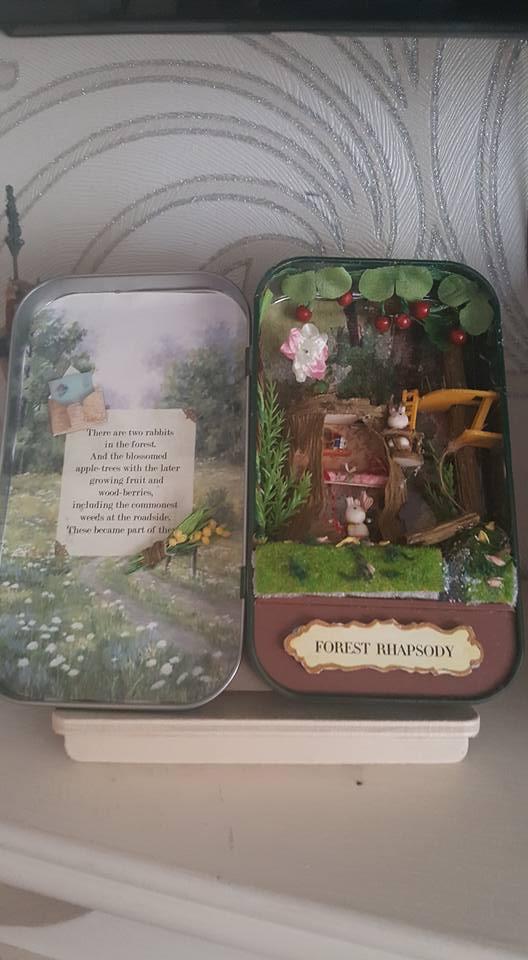 Forest Rhapsody miniature craft kits