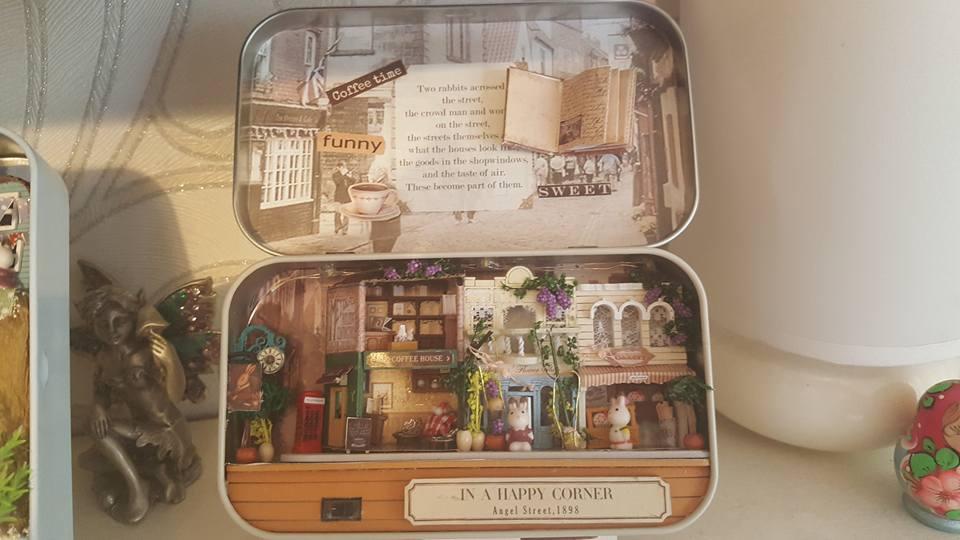 In a happy corner - miniature craft kits