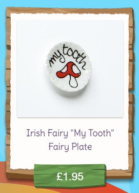 my tooth fairy plate