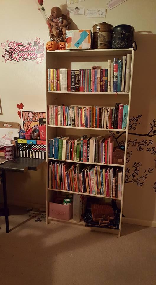 Kaycee;s and Ella's re-organised bedroom