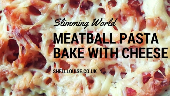 meatball pasta bake with cheese slimming world recipe