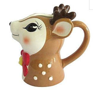 reindeer milk jug asda