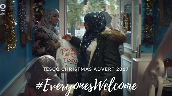 Tesco Christmas advert 2017 #EveryonesWelcome