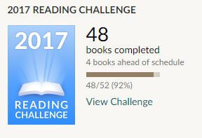 Goodreads reading challenge 48 books read