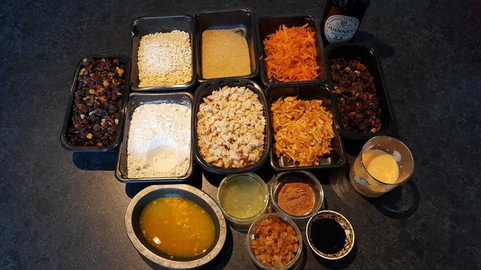 Stir up Sunday - Christmas pudding ingredients
