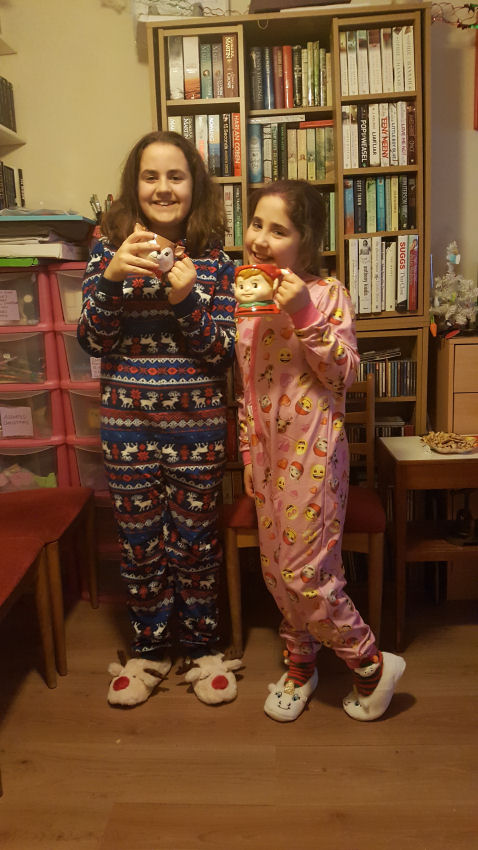 new Christmas pyjamas
