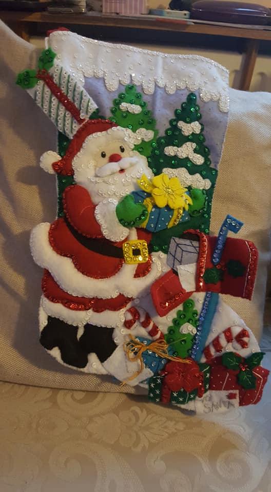 new Christmas stocking