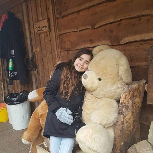 #1day12#pics  Big teddies at Hill Holt Wood