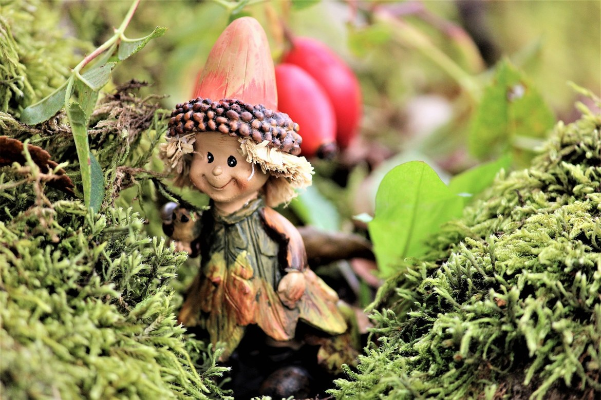 declutter your garden and add decorations such as these cute little imps