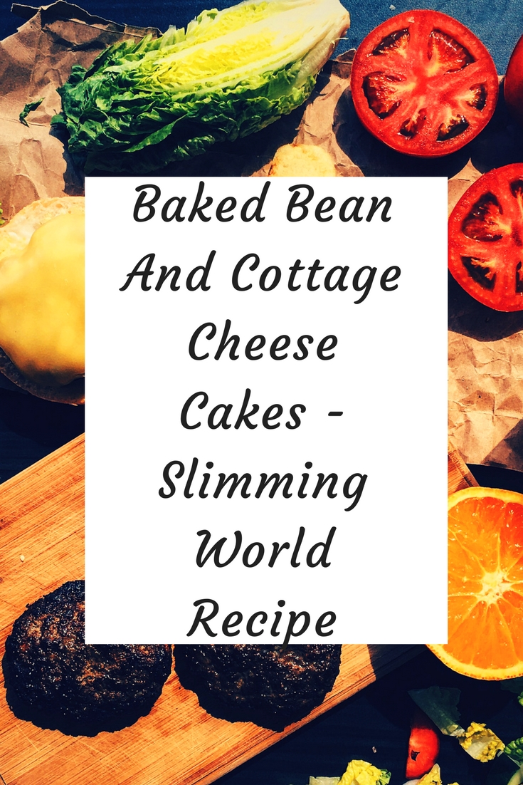 baked bean and cottage cheese cakes Slimming World recipe