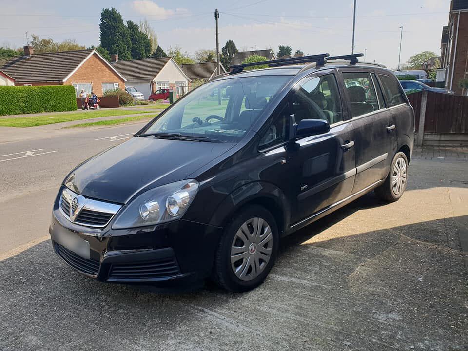 new car Vauxhall Zafira