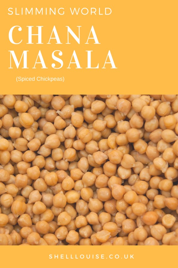 Chana Masala Slimming World Recipe