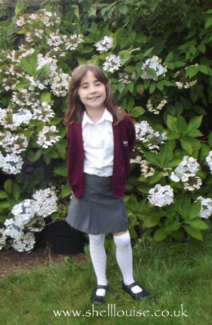 Ella's first day back to school photos - 2015