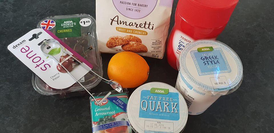 cherry cheesecake slimming world recipe ingredients