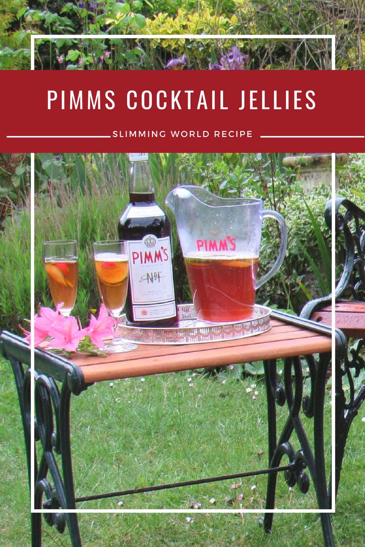 Pimms Cocktail Jellies