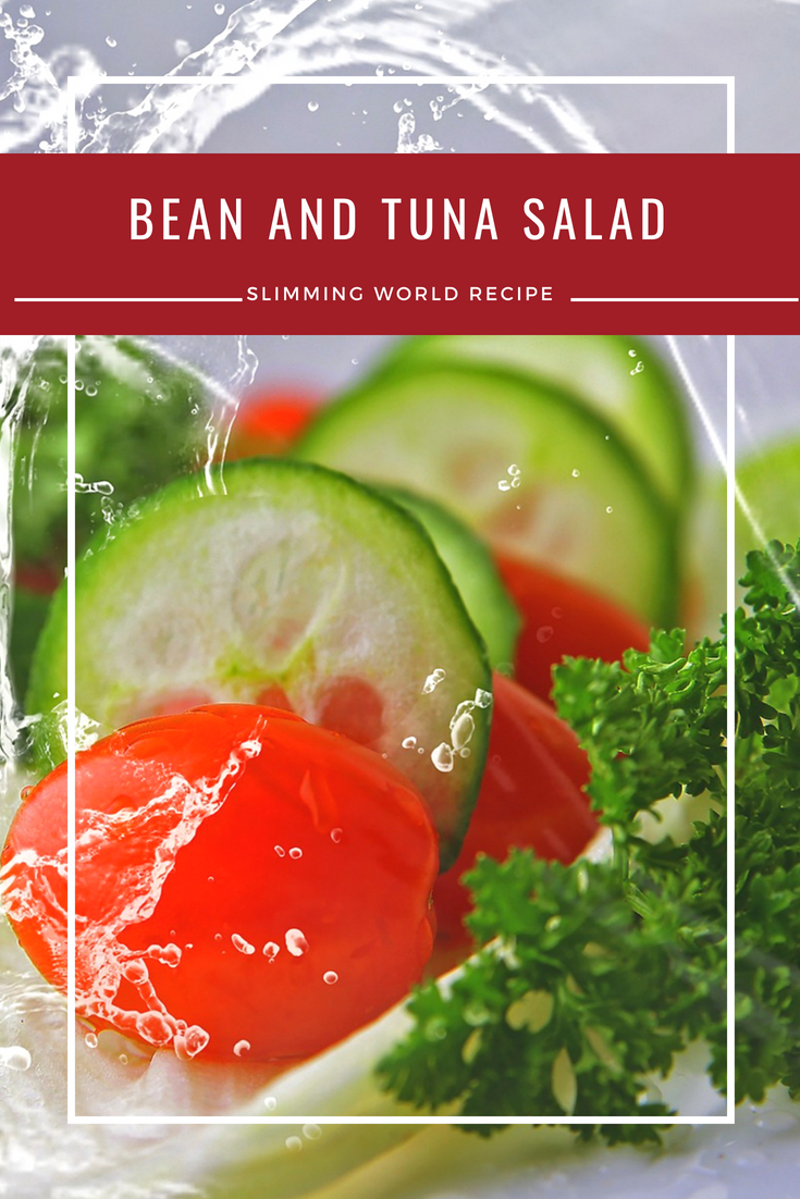 bean tuna salad