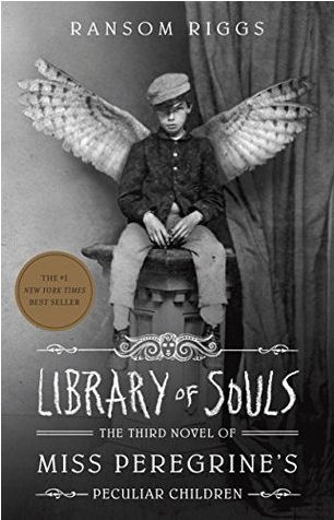 Library Of Souls By Ransom Riggs Book Cover
