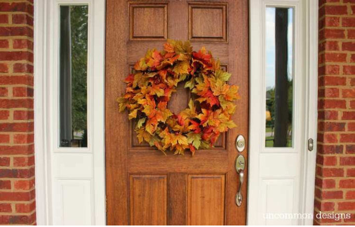 Autumn Leaf Wreath