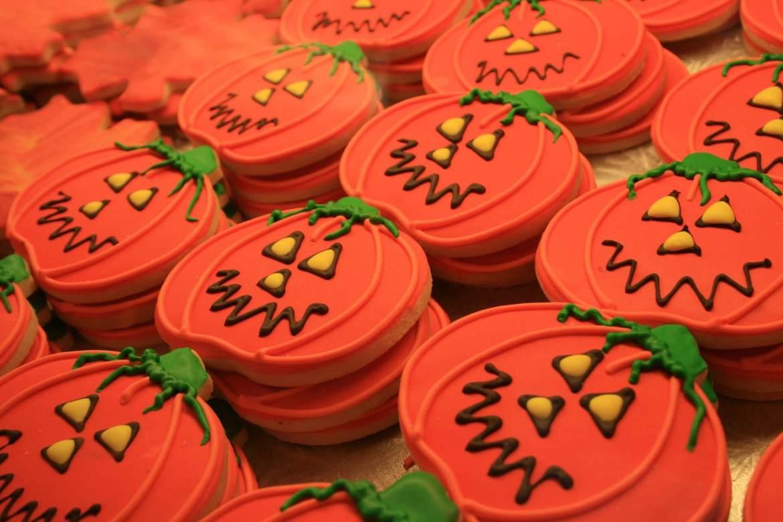 Halloween cookies - pumpkins