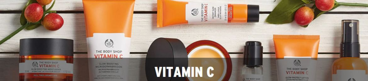 The Bodyshop Vitamin C skincare range
