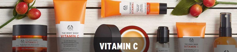 The Bodyshop Vitamin C skincare range