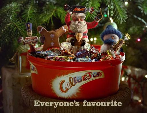 Celebrations Christmas Advert