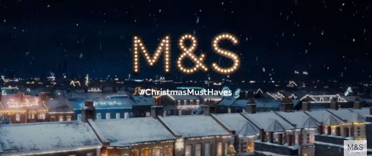 Christmas Must Haves M&S Christmas advert hme and clothes