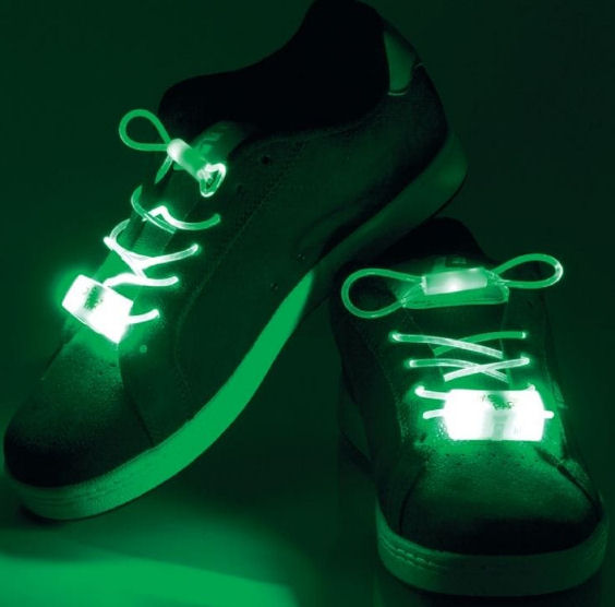 LED Shoelaces from Find Me A Gift