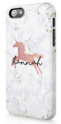 personalised unicorn phone case
