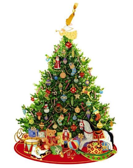 Marie Curie Christmas Tree Advent Calendar - advent calendars guide 2018