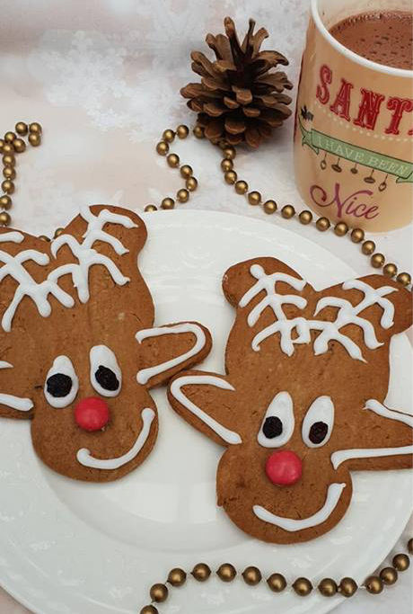 Rudolph Gingerbread