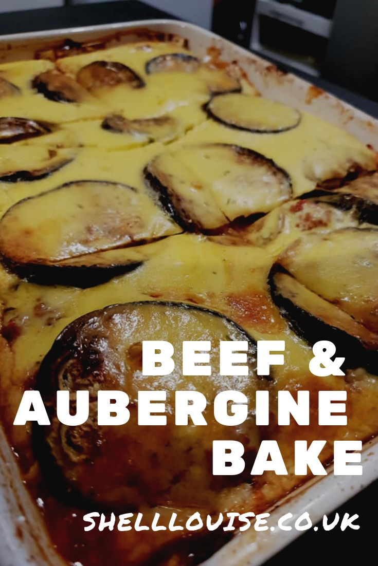 beef and aubergine bake slimming world recipe