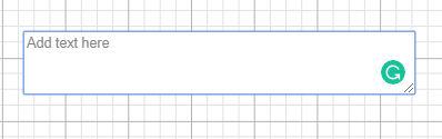 Design Space add text box