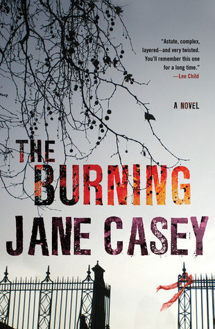 The Burning by Jane Casey book cover