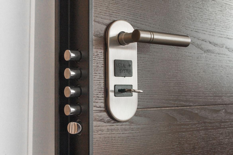 simple ways to secure your home - door locks