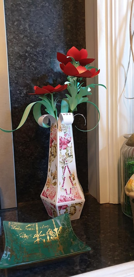 finished vase