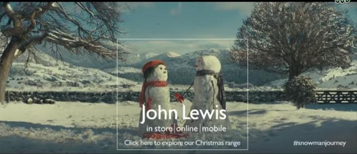 John Lewis Christmas adert 2012