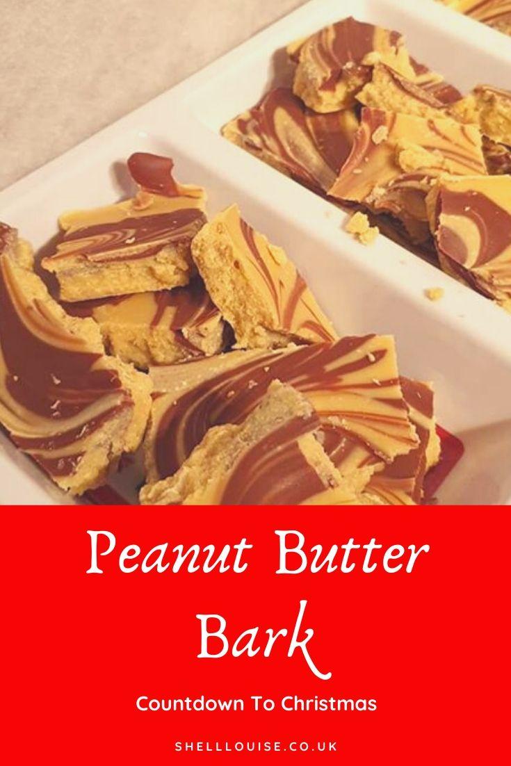 Peanut butter bark