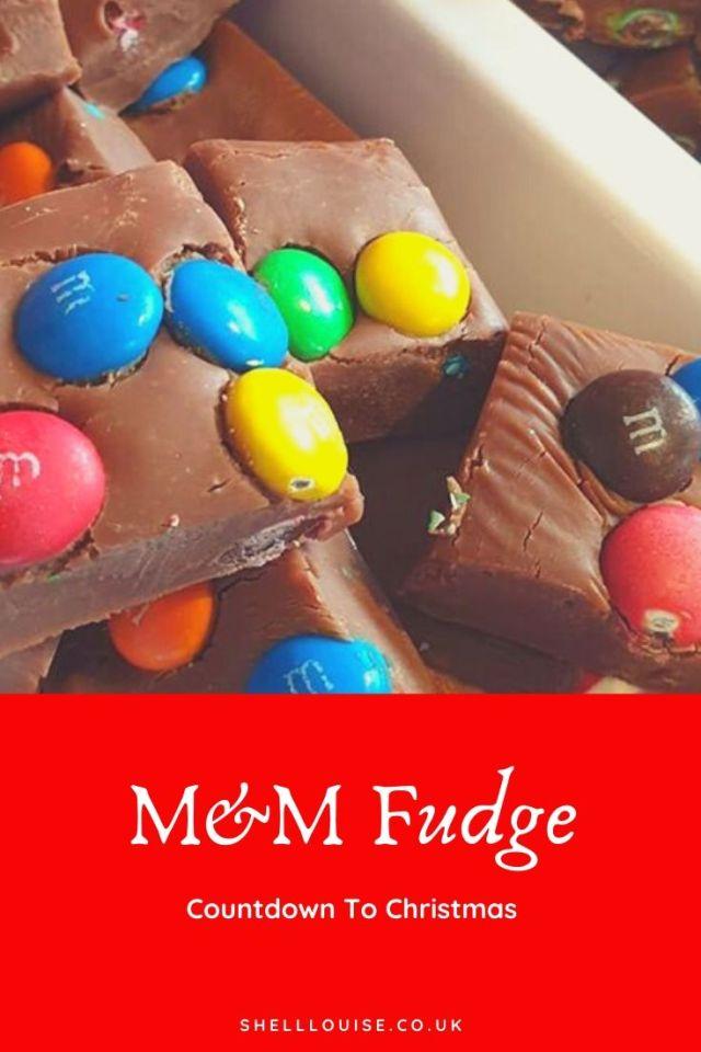 M&M fudge