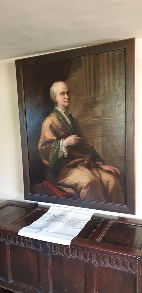 Issac Newton portrait - 1 day 12 pics february