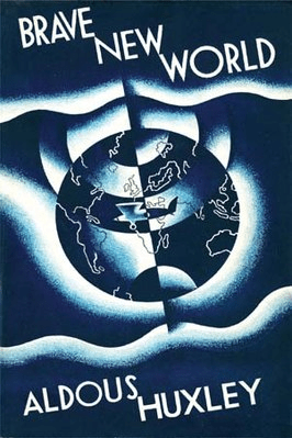 Brave New World by Aldous Huxley - best dystopian novels of the 20th century