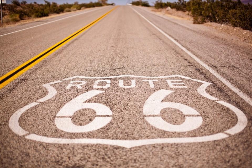 family roadtrip - route 66
