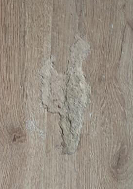 damage on laminate flooring