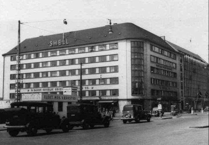 Raf Ww2 Attack On Gestapo Hq In Shell House Copenhagen Royal