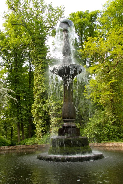 Pfaueninsel fountain